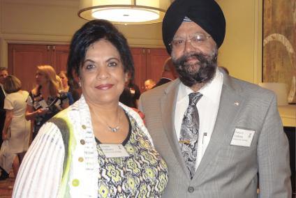 Harjit and Seema Galhotra