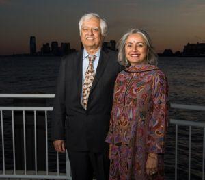 Kavita and Lalit Bahl have pledged $3.5 million to establish a molecular imaging laboratory at Stony Brook Medicine, Stony Brook, N.Y.