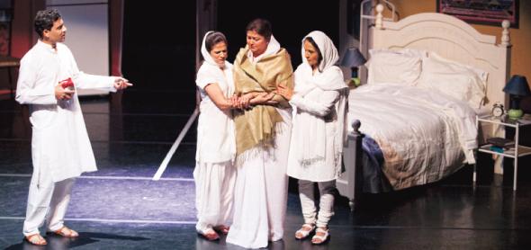 Scene from the play                 Photo: Navin Mediwala