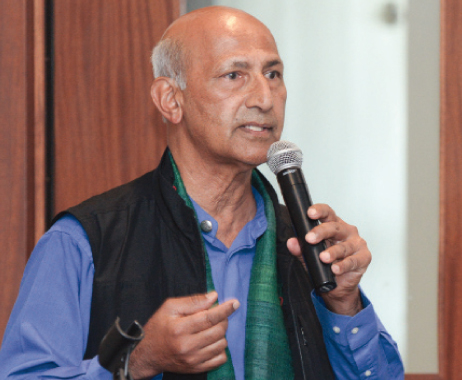 Dr. Krishna Madappa, President and founder of Institute for science and spirituality from New Mexico.