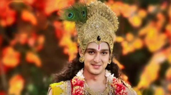 Saurabh Jain as Krishna in New Mahabharat
