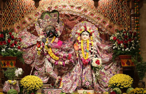 Sri Sri Radha Nilamadhava on Radhastam    Photos: Nagalla Nagaraj