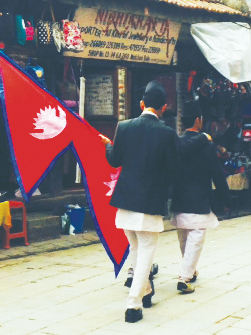 Nepalese Flag 4
