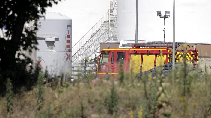 FRANCE FACTORY ATTACK