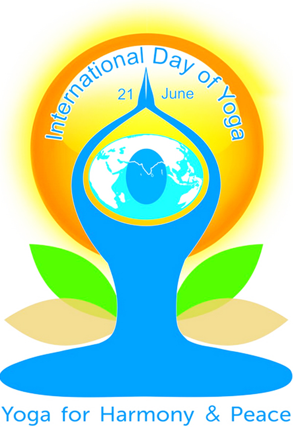 International Yoga Day Honors Service Award