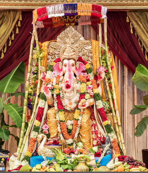 Ganapathy bappa moriyaaa hyderabad ka hungama for Annam indian cuisine houston tx
