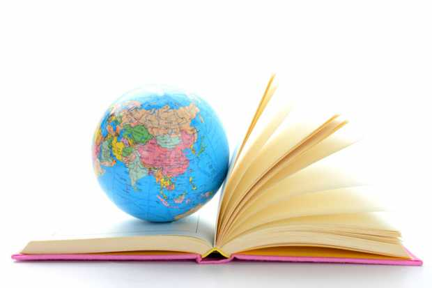 globe-on-open-book