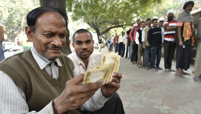 Demonetisation: Longer queues to get cash on bank holiday