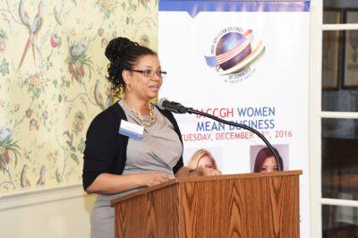 HMSDC President Ingrid Robinson