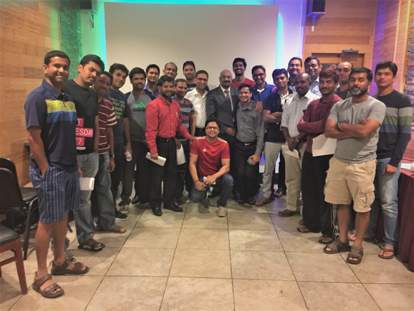Captains Meeting at Shiv Sagar Restaurant in Houston. Food was complementary from India House for all Captains and Vice-Captains from the 16 best cricket teams in Houston Area.