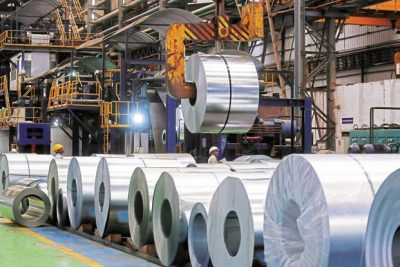Steel industry is particularly worried as China has been dumping iron and steel products in India at a much lower price than the domestic industry can supply at. Photo: Bloomberg