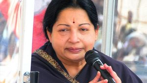 Jayalalithaa was moved back into the CCU late afternoon on Sunday, reportedly due to heart complications (HT File Photo)