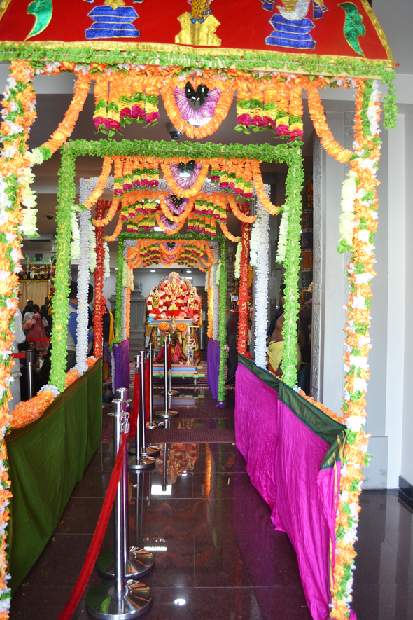 Heavenly Gates open at the Vaikunta Ekadasi Celebrations at Sri