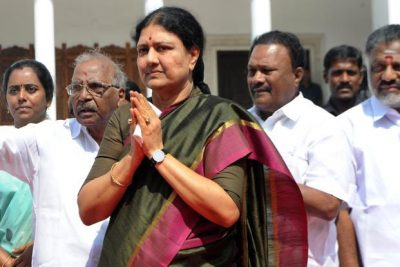 AIADMK new general secretary V.K. Sasikala. Photo: AFP