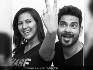 Keith Sequeira proposed to Rochelle Rao recently. (Image courtesy: RochelleMRao)