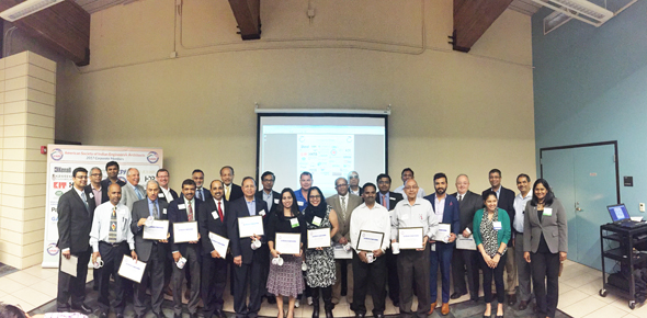 Recognition and Appreciation Ceremony of 38 corporate members with ASIE Board Members.