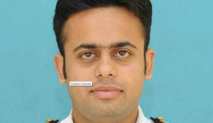 Afile photograph of marine engineer Sajid Hussain, a resident of Jamshedpur in Jharkhand .(HTPhoto)