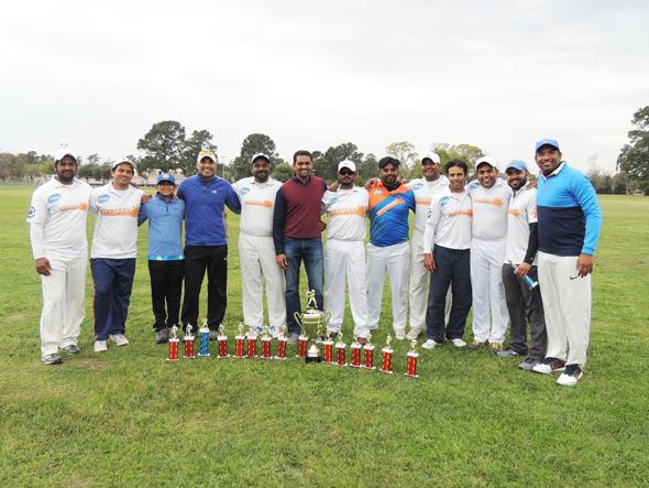 Winners ECC with Chief Guest Krishna Kasturi