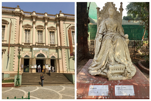 The Bhau Daji Lad museum (formerly Victorial and Albert) was restored to its former glory, but a statue of the Queen is relegated to a back alley.