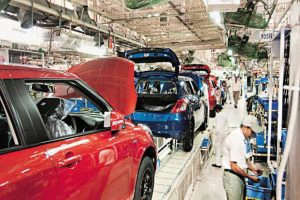 Suzuki Motor Corporation, whose arm Maruti Suzuki India commands nearly 50% of the passenger vehicle market in the country, has already started operations at its new plant in Gujarat as part of the plan to raise its total production to 2 million units by 2020. Photo: Ramesh Pathania/Mint