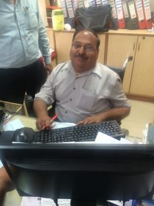 Virendra Kalra, Sr. Manager of Canara Bank in Rajouri Garden