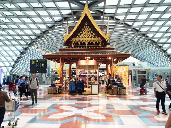 Bangkok's Suvarnabhumi Airport Concourse