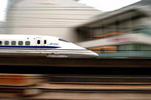 The proposed 508 km Mumbai-Ahmedabad bullet train is estimated to cost the Railways about Rs97,636 crore. Photo: Wikimedia Commons