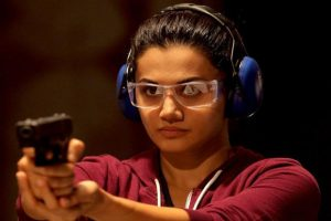 Tapsee Pannu in a still from 'Naam Shabana', the prequel to the 2015 hit 'Baby'.