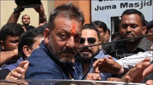 An arrest warrant has been issued against Sanjay Dutt for non-appearance in court.