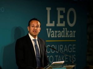 File photo of Leo Varadkar. (Reuters photo)