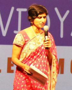 The program emcee, Roopal Shah