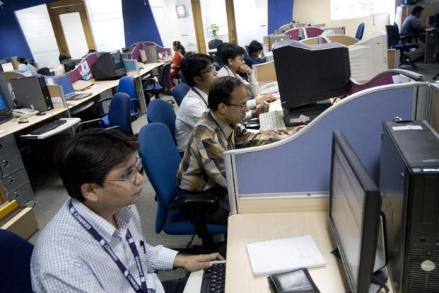 All the top IT firms are still in denial mode and attribute the planned lay off to a 'marginal' increase in the number of poor performers on account of a 'more rigorous' performance evaluation process. Photo: Hindustan Times