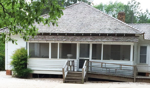 The boyhood home of Jimmy Carter in Plains, Georgia