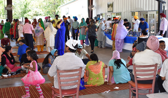 The Vaisakhi mela held this past Saturday, May 13 at the SNC, which brought out several thousand people to pray, celebrate, eat langar and play sports.