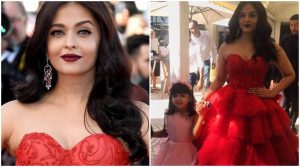 Several pictures and videos having Aishwarya Rai and daughter Aaradhya are doing the rounds on social media.