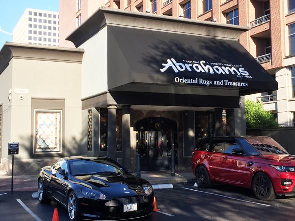 The latest location of Abrahams Oriental Rugs and Treasures is in the heart of the Galleria at 1801 Post Oak. This location is intended to stock Abrahams' finest offerings.