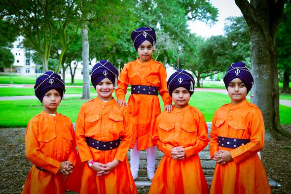 The Virrasat e Khalsa group appeared as the Panj Pyare