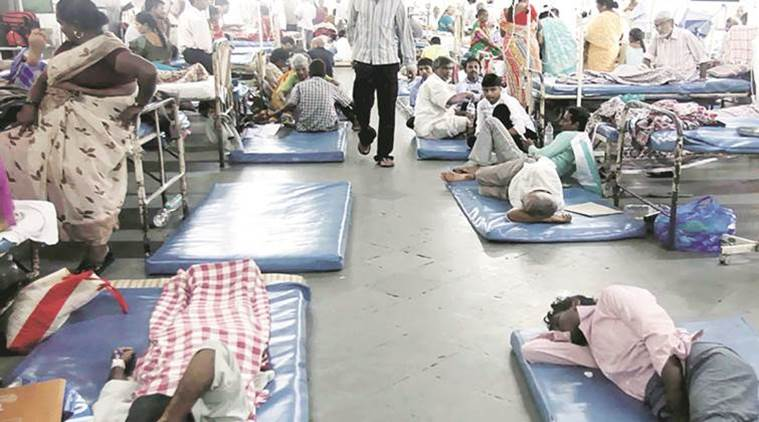 Of the total 103 deaths, 53 people have died of H1N1 and 13 due to dengue, the sources said (Representational Image/ Indian Express File Photo)