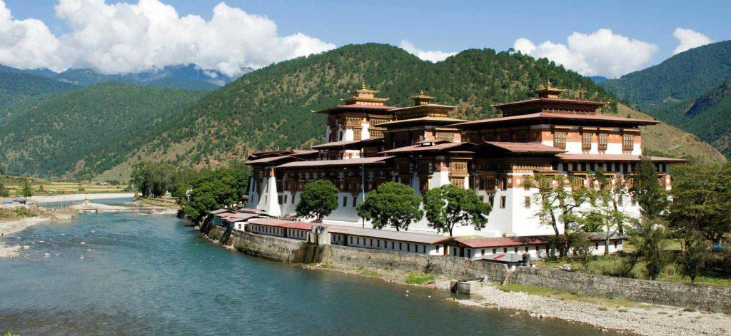 Bhutan-Punakh-monastery