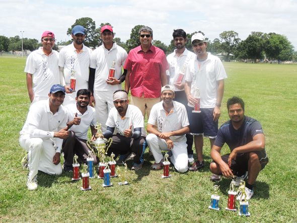 Winner Cougars with Golam Mohammad Nousher