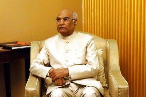 NDA presidential candidate Ram Nath Kovind. File photo: AP