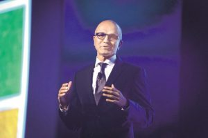 Microsoft CEO Satya Nadella has been pushing Azure in India to grab market share from AWS and others. In February, Microsoft announced a long-term cloud services deal with Flipkart and later invested $200 million in the start-up as part of a larger $1.4 billion funding round. Photo: Abhijit Bhatlekar/Mint