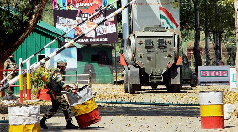 The 2016 Uri terror attack had killed 19 army jawans. The US government's report on terrorism notes that Jammu and Kashmir has witnessed a 93 per cent increased in the number of terror attacks in 2016. (Source: PTI Photo/File)