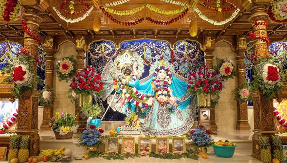 Evening Aarti Altar