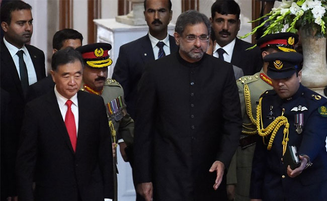 China's Vice Premier said they want to strengthen its strategic cooperation with Islamabad.