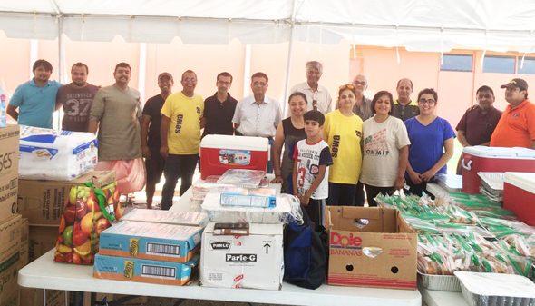 Volunteers at Sanatan Shiv Shakti Mandir