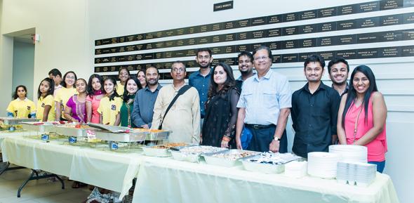 The organizing team, Sewa team, and volunteers.