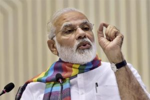 On the three years of Mann Ki Baat, Narendra Modi said people have been at the centre of the radio programme and it succeeded in connecting directly with the people because of the involvement shown by the people of the country. Photo: PTI