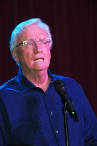 Well-known local voice teacher Tom McKinney spoke of his work with Shreya