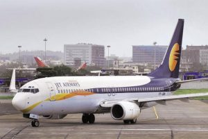 Jet Airways revenue from operations rose about 10% to Rs5,649 crore. Photo: Mint